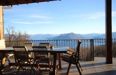 Villa heights of Stresa