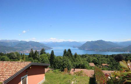 Villa with  Maggiore Lake  view