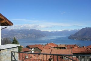 Apartment in residential complex heights of Stresa