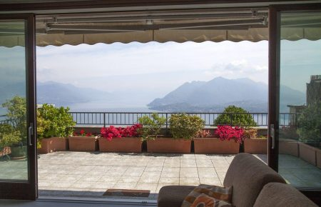 Magnificent apartment with Maggiore Lake view