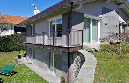 Recently built villa on the Stresa Hills