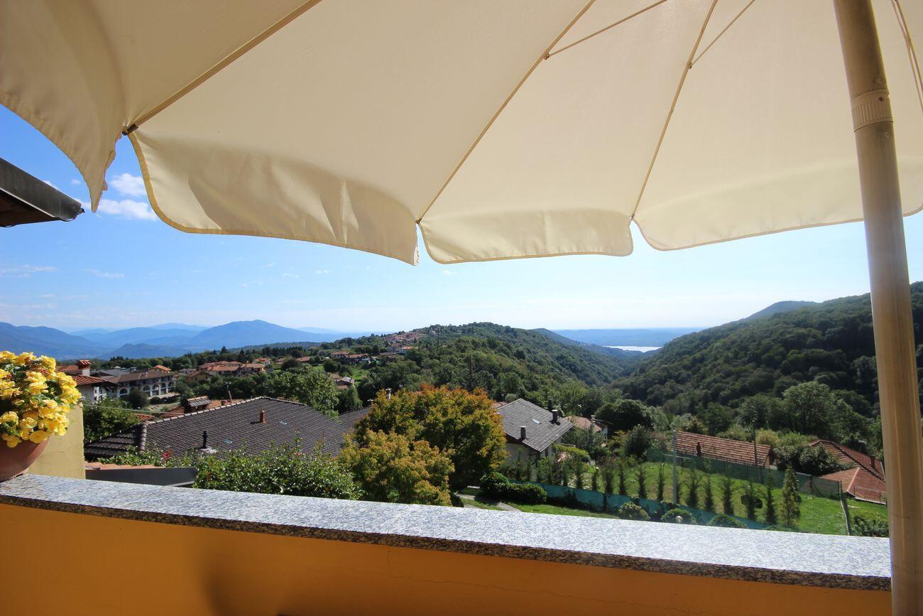 Appartamento panoramico centro Gignese